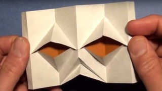 Jeremy Shafer Origami - Blinking Eyes Tutorial